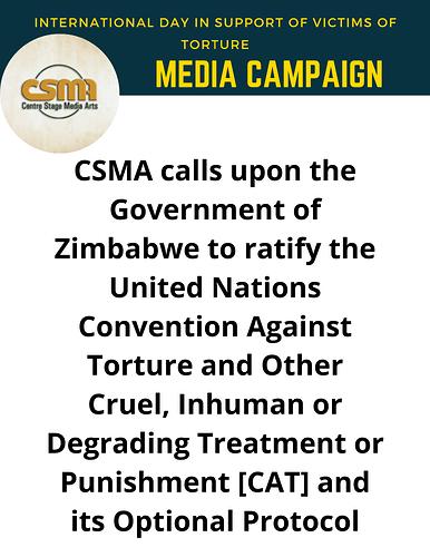 CSMA Anti Torture Day