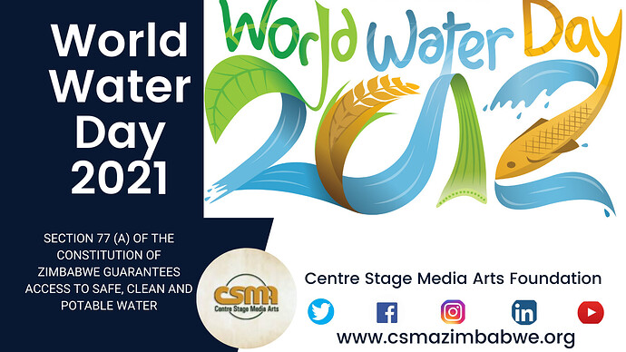 World Water Day 2021