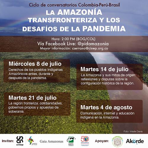 Afiche Ciclo Amazonía General