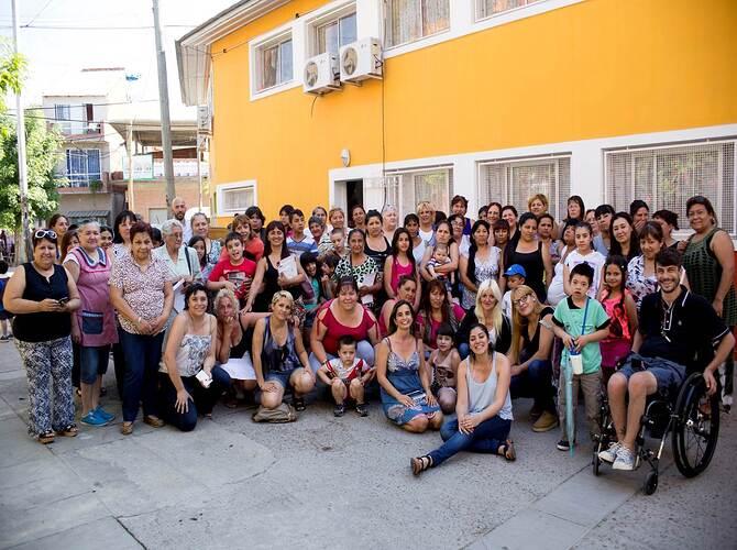 Lanzamiento de talleres en Barrio INTA (1)